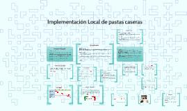 Implementación Local de pastas caseras