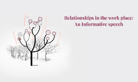 informative speech on relationships
