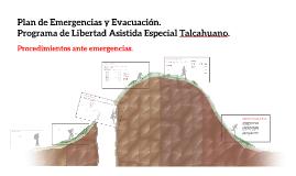 Plan de Emergencias y Evacuación de Programa de Libertad Asi