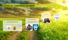 LA FAMILIA: COMUNIDAD DE AMOR