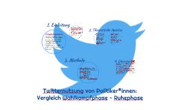 Twitternutzung