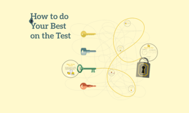 How to do your best on a test
