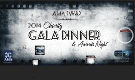 AMA (WA) 2014 Charity Gala Dinner & Awards Night