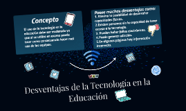 Desventajas de la Tecnología en la Educación