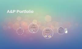 A&P Portfolio