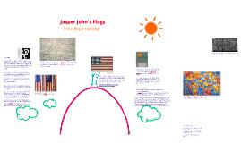 "Copy of Jasper Johns ""Flag"""