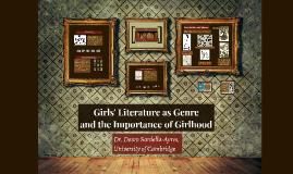 Girls' Literature as Genre