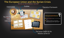 The European Union and the Syrian Crisis