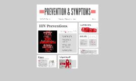 SYMPTOMS & PREVENTION