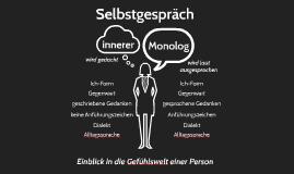 (Innerer) Monolog