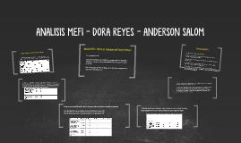 Copy of Analisis MEFI ( Matriz de Evaluación del Factor Interno)