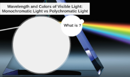 Wavelength and Colors of Visible Light: