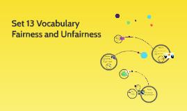 Set 14 Vocabulary