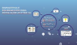 DISPOSITIVOS E EQUIPAMENTOS PARA INSTALAÇÕES ELÉTRICAS - RECEPTÁCULO