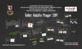 Taller Adulto Mayor 2014