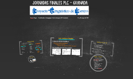 JORNADAS FINALES PLC - GRANADA