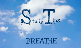 Copy of Study Tips