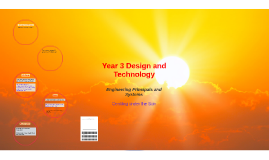 Year 3 Design and Technology