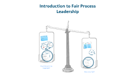 Introduction to Fair Process Leadership
