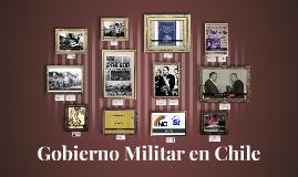 Copy of Gobierno Militar en Chile