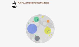 PUC PLAN UNICO DE CUENTAS 2015