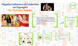 Celeb Youth » Character, Values and Celebrity Culture