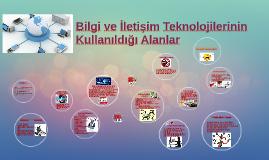 Bilgi İletişim Teknolojileri Alanlar