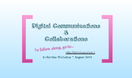 Digital Communications & Collaborations