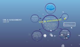 UDL & Assessment