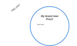 My brand new Prezi!
