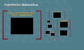Experiências Matemáticas