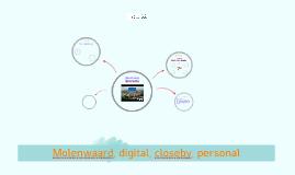 Molenwaard, digital, closeby, personal