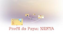 Profil de Pays: KENYA