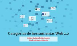 Categorías de herramientas Web 2.0