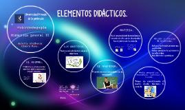 Elementos Didácticos