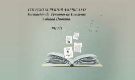 """PROYECTO INSTITUCIONAL DE LECTURA, ESCRITURA Y O""""RALIDAD"""