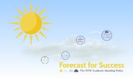 Forecast for Success