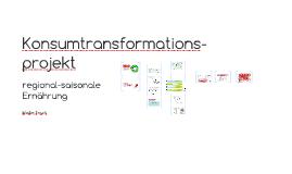 Konsumtransformationsprojekt regional-saisonal