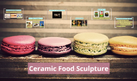 Ceramic Food Sculpture