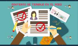 Copy of CONTRATOS DE TRABAJO EN EL PERÚ
