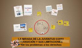 LA MIRADA DE LA JUVENTUD COMO TRANSICIÓN Y SUS LIMITACIONES