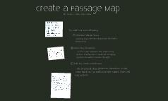 Create a Passage Map