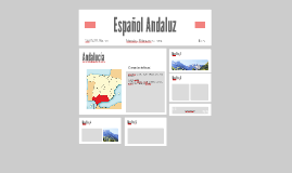 Español Andaluz