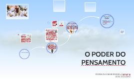 OPODER DO PENSAMENTO