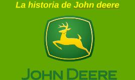 Historia de john deere