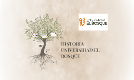 Copy of HISTORIA UNIVERSIDAD EL BOSQUE