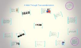 Copy of A Walk Through Transcendetalism
