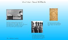 Civil War: Social Effects
