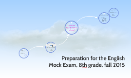 Preparation for English mock Exam 8th grade, fall 2015