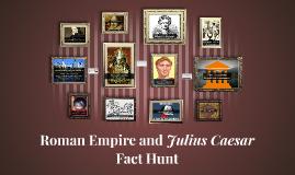 Roman Empire and Julius Caesar Competition